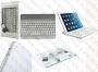 Apple iPad 9.7 2017 / iPad Air - клавиатура Bluetooth-Aluminium