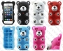 Apple iPhone 5/5s/5c (силиконов калъф) Bear style
