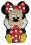 Apple iPhone 5/5s/5c (силиконов калъф) 'Minnie Mouse style'