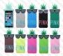 Apple iPhone 5/5s/5c (силиконов калъф) 'Pineapple style'