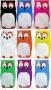Apple iPhone 5/5s/5c (силиконов калъф) 'OWL style'