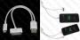 Apple iPhone 5/ 4s /3 /iPad 2/3/4/mini/ iPod Touch 5/Touch 6 iPod nano 7- кабел 8 pin  + 30 pin към USB