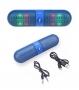 Bluetooth, безжичен, аудио, стерео говорител 'BT808L Pill' (светло син)