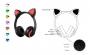 Bluetooth слушалки ZW-19 'Cat Style'