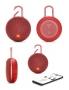 Bluetooth, безжичен, аудио говорител 'JBL - CLIP 3' (червен)
