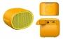 Bluetooth, безжичен, аудио говорител 'Sony SRS-XB01' (жълт)