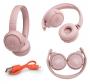 Bluetooth слушалки 'JBL T500' (розови)