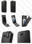 HTC Desire 600 / 606w (кожен калъф + унв. протектор)