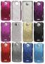 HTC One X (калъф пластик) 'Glittery style'