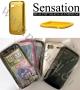 HTC Sensation 4G (метализиран калъф) HEALTHY 'SILICO-ALUMINIUM'