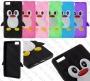 Huawei Ascend P8 Lite (силиконов калъф) 'Penguin style'