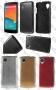 LG Google Nexus 5 E980 D820 (метализиран калъф) 'Steel style'