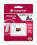 Micro SDHC card (8GB class 10) Trasncend Premium 400X