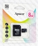 Micro SDHC card   Adapter (8GB class 4) Apacer (Waterproof,  Magnet proof,  Tempreture proof,  X-ray proof)