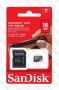 Micro SDHC card + Adapter (16GB class 4) SanDisk