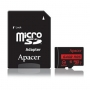 Micro SDHC card + Adapter (64GB class 10) Apacer (Waterproof,  Magnet proof,  Tempreture proof,  X-ray proof)