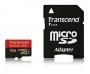 Micro SDHC card (16GB class 10) Transcend ULTIMATE 400x без SD Adapter 90MB/s