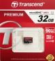 Micro SDHC card (32GB class 10) Transcend - Speed 90Mb/s