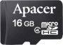 Micro SDHC card   Adapter (16GB class 4) Apacer - водоустойчива