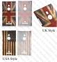 Nokia Lumia 925 (калъф пластик) 'Flag Style'