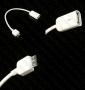OTG USB кабел (женски)  към Micro USB 3.0