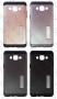 Samsung Galaxy A3 (калъф hybrid + стойка) 'Spigen style'
