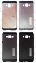 Samsung Galaxy A7 SM-A700F (калъф hybrid   стойка) 'Spigen style'   протектор