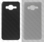 Samsung GALAXY J3 J310 /J3 2016 J320 (калъф пластик) 'Leather style'