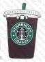 Samsung Galaxy J1 2016 / J120 (силиконов калъф) 'Starbucks Coffee style'