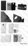Samsung Galaxy Note 3 N9000 (калъф кожен -
