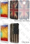 Samsung Galaxy Note 3 N9005 (калъф пластик) 'Flag Style' - 30%