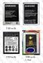 Samsung Galaxy Note II N7100 батерия 3000 mAh/3100 mAh/3500mAh