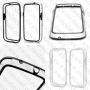 Samsung Galaxy S4 I9500  (пластик калъф BUMPER)