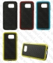 Samsung Galaxy S6 G920 (калъф HYBRID) ТПУ/пластик 'Vasareli style' + подарък LCD протектор за гърба