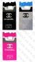 Samsung Galaxy S6 G920 (силиконов калъф) 'Chanel Cigarettes style' + подарък LCD протектор за гърба