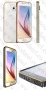 Samsung Galaxy S6 G920 (калъф Bumper) 'Metal style' + подарък LCD протектор за гърба