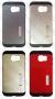 Samsung Galaxy S6 Edge SM-G925 (калъф HYBRID + стойка) 'Spigen style'