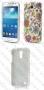 Samsung Galaxy S4 mini I9190 (калъф пластик) Flowers style