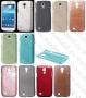 Samsung Galaxy S4 mini I9190 (калъф пластик) 'Brushed style'