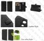 Sony Xperia ZR M36h (калъф кожен -