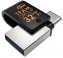 USB 3.1   Type C Flash Drive (Флашка) (32GB сив/черен) Teamgroup M181