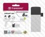 USB Flash Drive (Флашка) (8GB сребриста) Transcend JetFlash 380S
