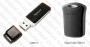 USB Flash Drive (Флашка) (4GB черна) Apacer AH321/Super Mini AH116