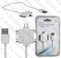 USB кабел с Micro USB, Apple-30pin и Samsung-30pin