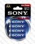 Алкална Батерия АА 1.5V Sony R06 Stamina Plus