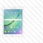 Стъклен протектор със заоблена фаска за Samsung Galaxy Tab S2 9.7 T810 T815 / Tab S3 9.7 T820 (Темперирано закалено стъкло)
