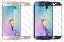 Стъклен протектор със заоблена фаска за Samsung Galaxy S7 Edge (Темперирано закалено стъкло) 'Full Screen Glittery Bord'