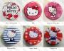 Метален калъф за слушалки 'Metal - Hello Kitty'