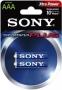 Алкална батерия ААA 1.5V Sony AM4-B2D LR03 Stamina Plus
