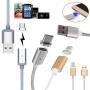 Магнитен USB / USB  Type-C data кабел (MG2-I5)